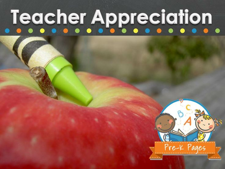 Teacher appreciation gift ideas.