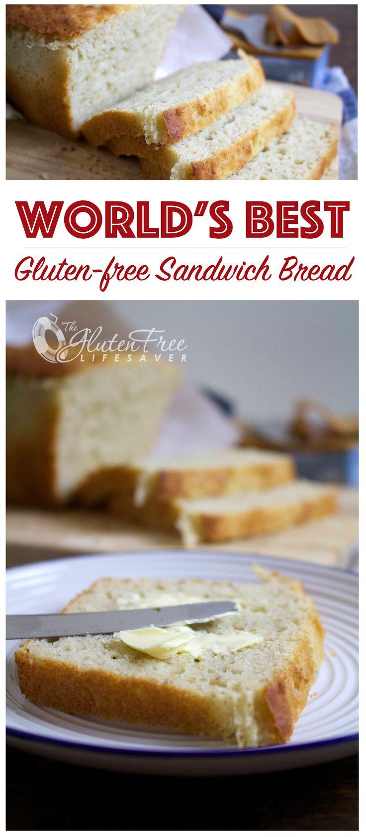 Gluten-free sandwich bread recipe! This is good since all my girls have gluten allergies.