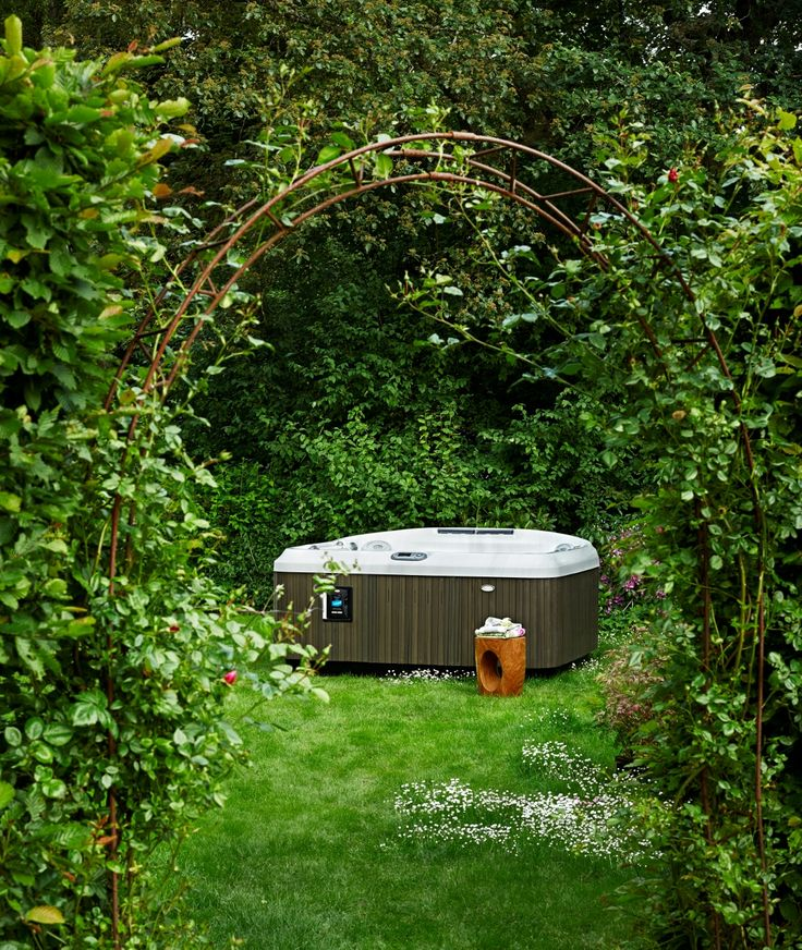 Pinterest  Jacuzzi jardin, Spa jacuzzi exterieur and Jacuzzi en bois ~ Jacuzzi En Bois