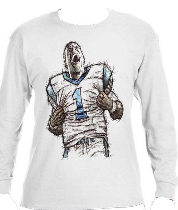 Cam Newton NFLPA Officially Licensed Carolina Panthers Long Sleeve Shirt Cam Newton