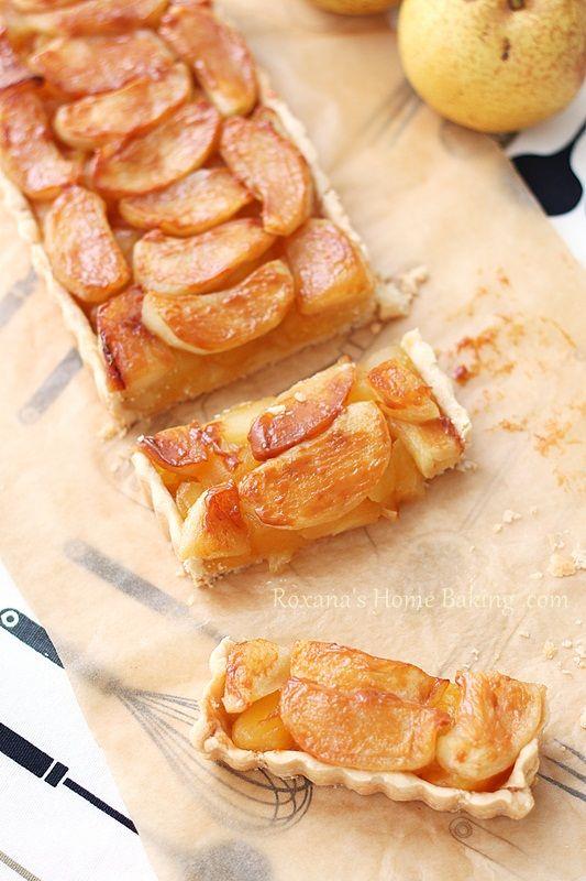 Apple Dulce de Leche Tart | Roxanashomebaking...