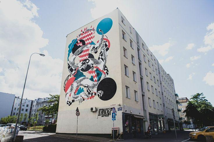 Knarf – New Mural for Traffic Design Festival 2014