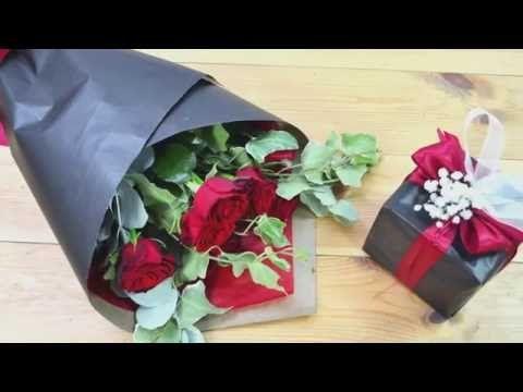 Как оригинально упаковать букет цветов | How to wrap a bouquet of flowers | ArtHolidays - YouTube