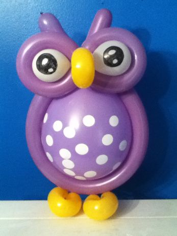 Owl Balloon art | Arienna 1st Birthday | Pinterest | Owl ...