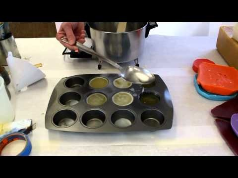 Encaustic workshop part 1 how to make encaustic medium and color by Jon Peters