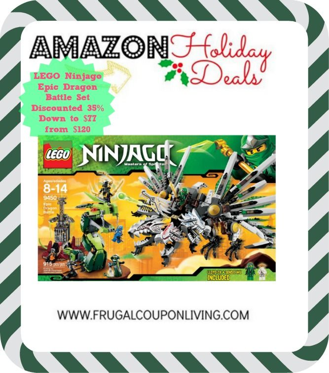 Ninjago LEGO Sets Discounted 35% Down to $77 from $120 #LEGO