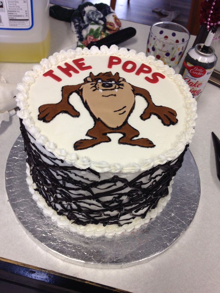Cake Design For Monthsary : The 99 best images about Taz Cakes on Pinterest Birthday ...