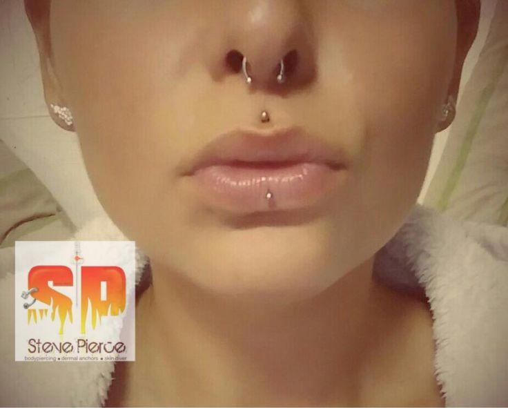 Septum Piercing, Medusa Piercing, Ashley Piercing