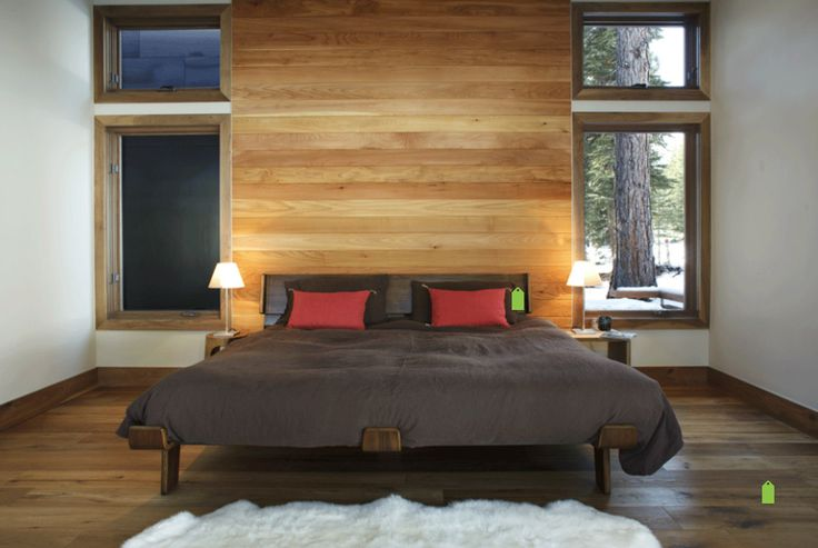 Bedroom wall timber cladding bedroom furniture pinterest timber cladding bedrooms and - Artistic wood clad design for warm essence in your house ...