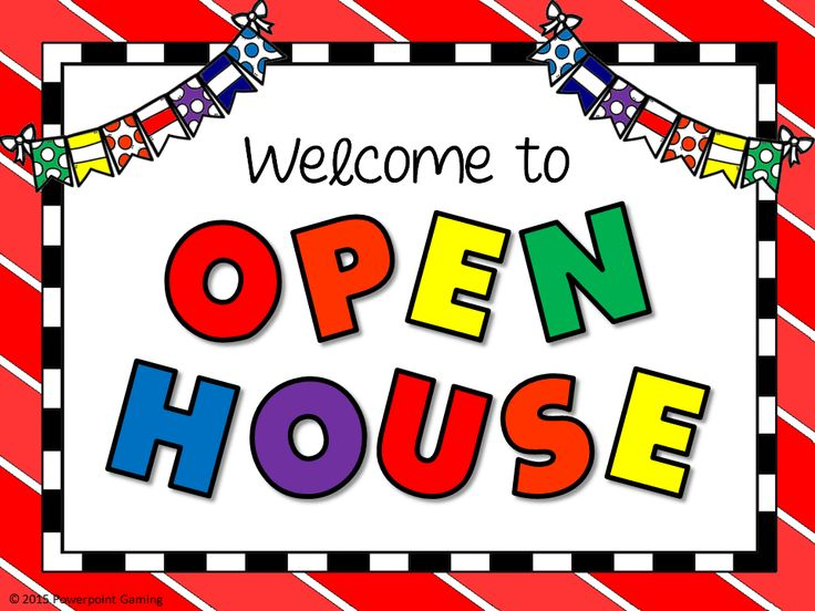 free clip art open house - photo #21