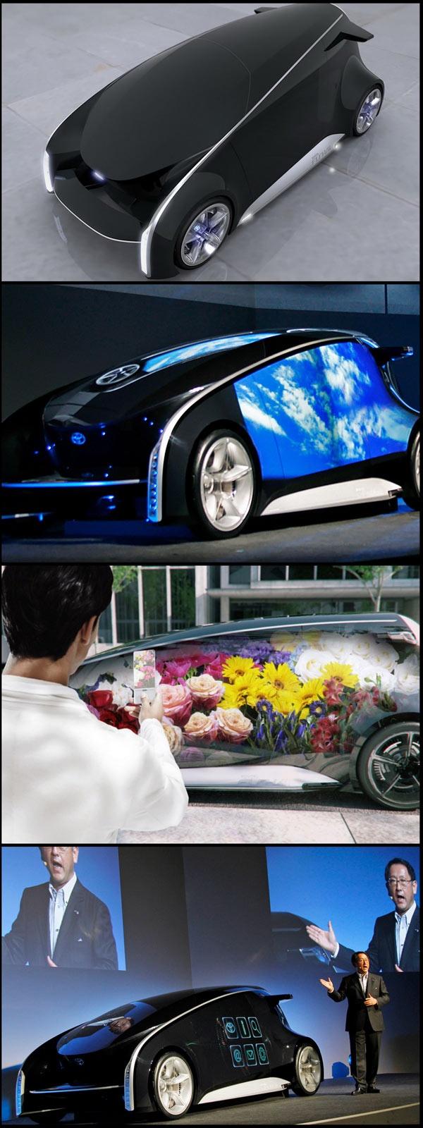 Toyota fun vehicle interactive internet fun vii at the 2011 tokyo motor show