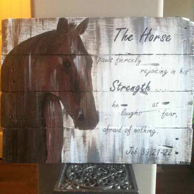 The Horse Pallet Project Completed Projects Wood Crafts Pallet Art Pallet Projects