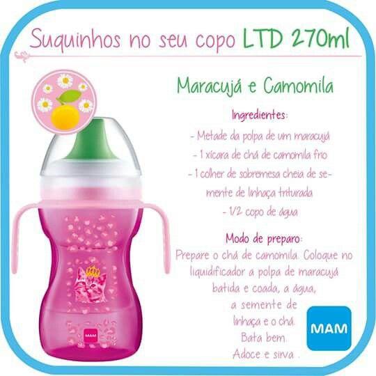 Suco de Maracujá e Camomila
