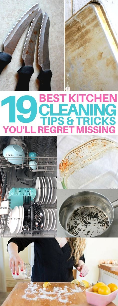 AMAZING kitchen cleaning hacks you need! cleaning tips and tricks, life hacks every girl should know, oven cleaning, how to clean your dishwasher, cleaning wooden cutting boards