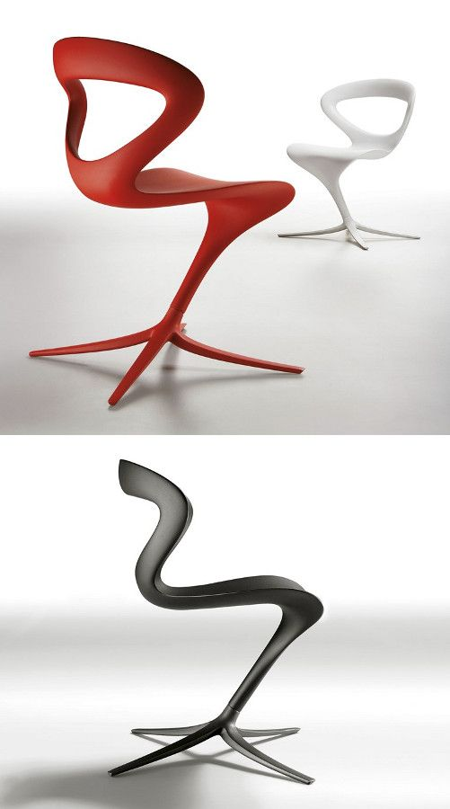 Polyurethane #chair CALLITA by Infiniti by OMP Group   #design Andreas Ostwald @Infiniti Ompgroup