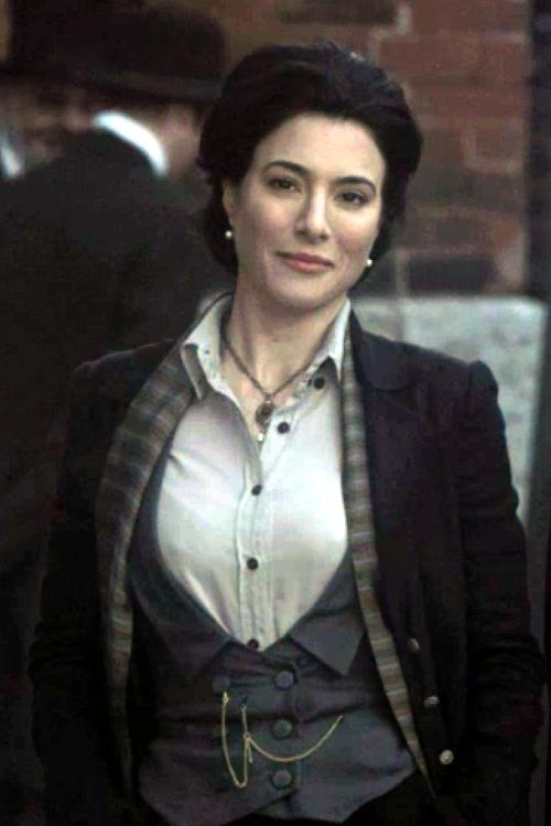 I vote Jaime Murray for the first female Doctor!!!  She's brilliantly witty, totally gorgeous, and insanely charismatic. You can't help but love her. And if you haven't already, watch her as H.G. Wells in Warehouse 13 and you'll agree. Jamie for Doctor <3