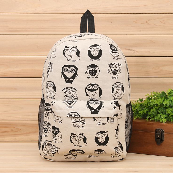 2014 New kpop women owl backpack,canvas printing cute backpacks high school,korean rucksack backpack,school bags for women D8-inCasual Daypacks from Luggage & Bags on Aliexpress.com | Alibaba Group