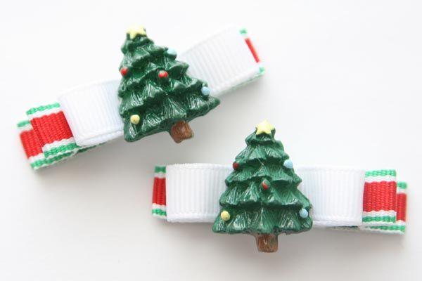 Christmas Tree Resin & Bow