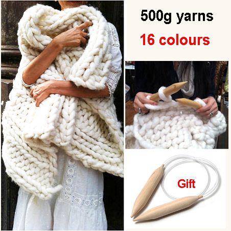 Pas cher Super épais fils à tricoter haute qualité épais fil pour tricot à la main fil de laine crochet livraison aiguilles Comely, Acheter  Fil de qualité directement des fournisseurs de Chine: Livraison gratuite super épais fils pour tricot de haute qualité épaisse fil pour main fil de laine à tricoter Crochet