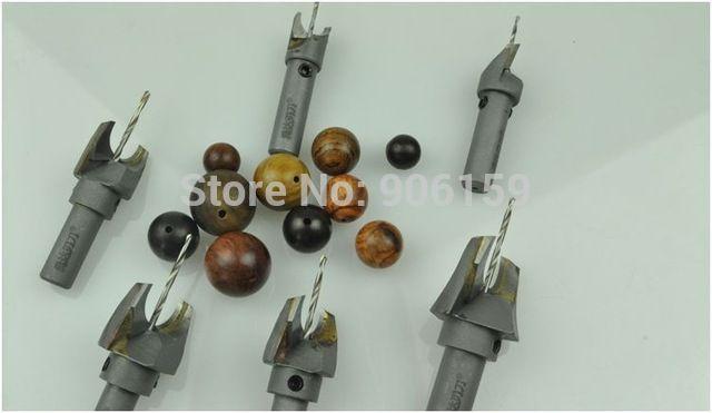 30mm-2.0mm Sfera coltello, solido Carburo di Lavorazione Del Legno strumenti, perline di legno trapano, perline di legno bits, FAI DA TE perline di legno