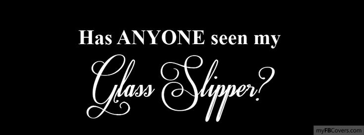 Glass Slipper Facebook Covers - myFBCovers