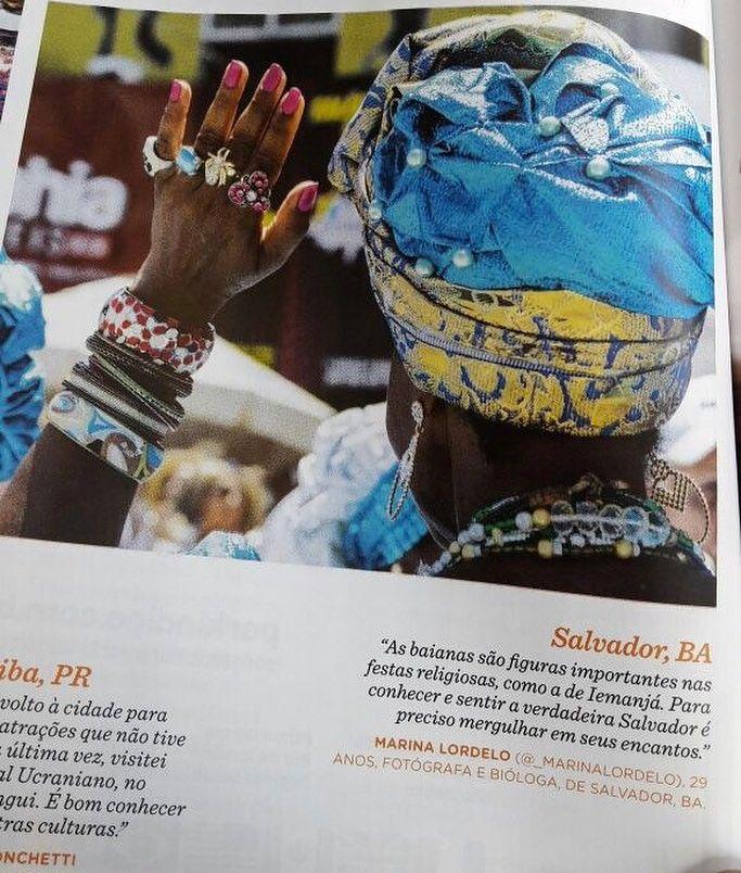 Esse mês teve foto minha na Revista de Bordo da Gol edição de Abril. #voeGOL obrigada!
