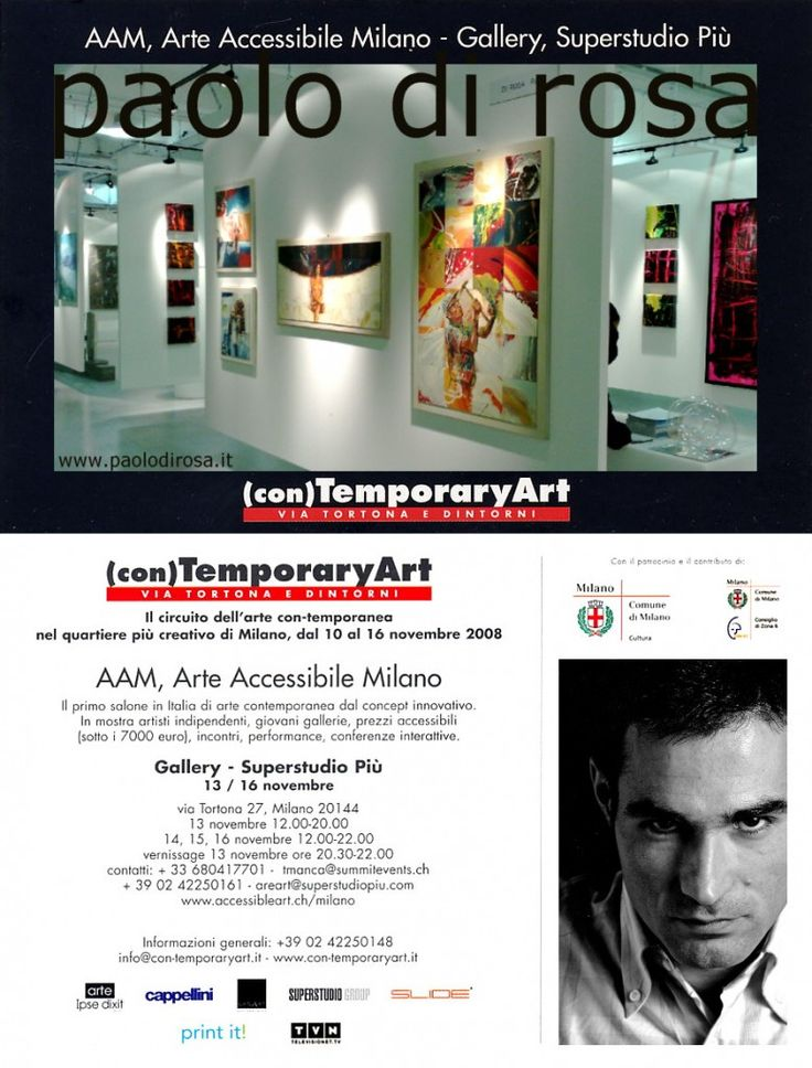 La mostra di Paolo Di Rosa ad Arte-Fiera a Bologna