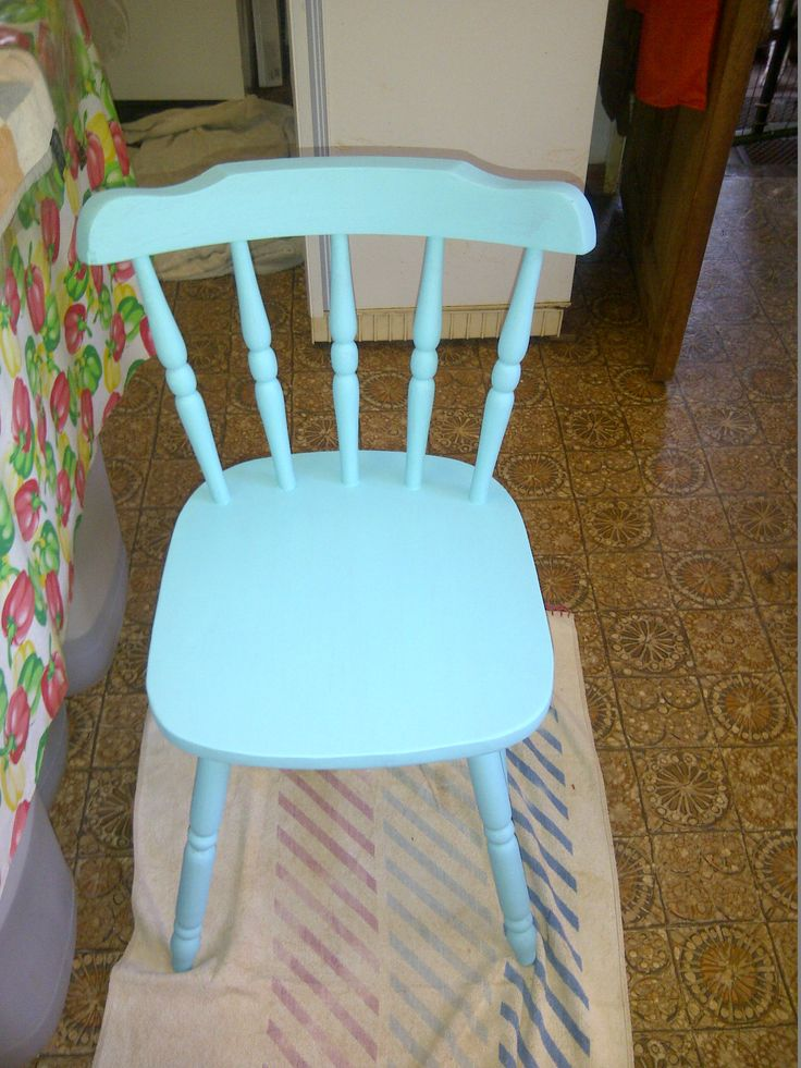 Chair ready....