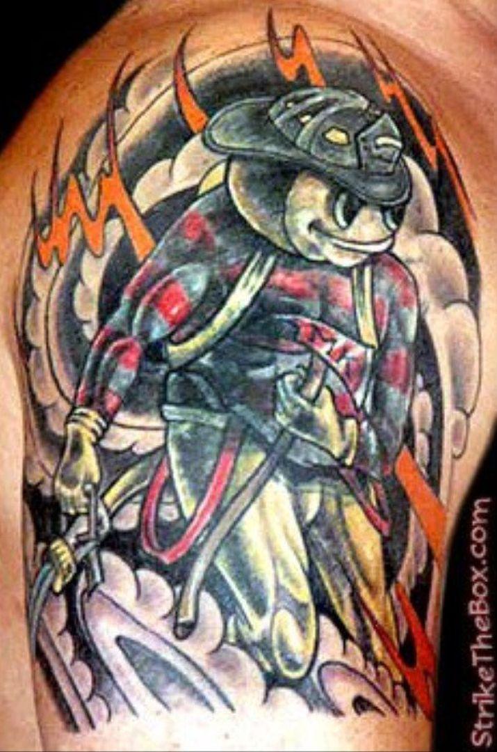 Buckeye Face Tattoos