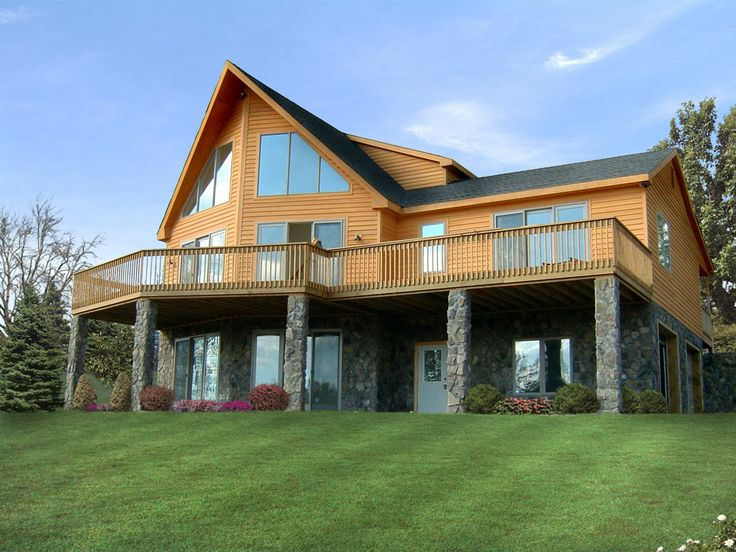 Plan Chalet Chalet Home Plans