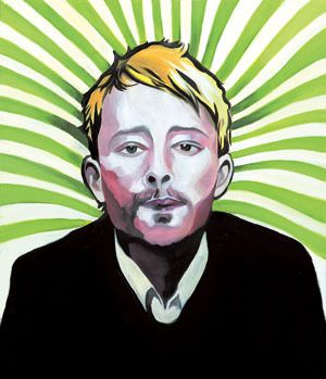 Sound#12, oil on canvas, 53.0×45.5, 2013, for Thom Yorke