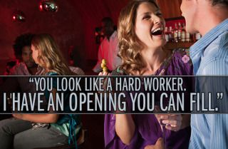 14 Amazingly Raunchy Pick-Up Lines for Girls I solemnly vow to try my hardest to use these :P