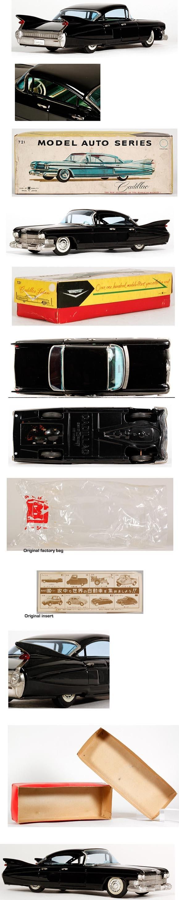 1959 Bandai, Cadillac Sedan de Ville in Original Box