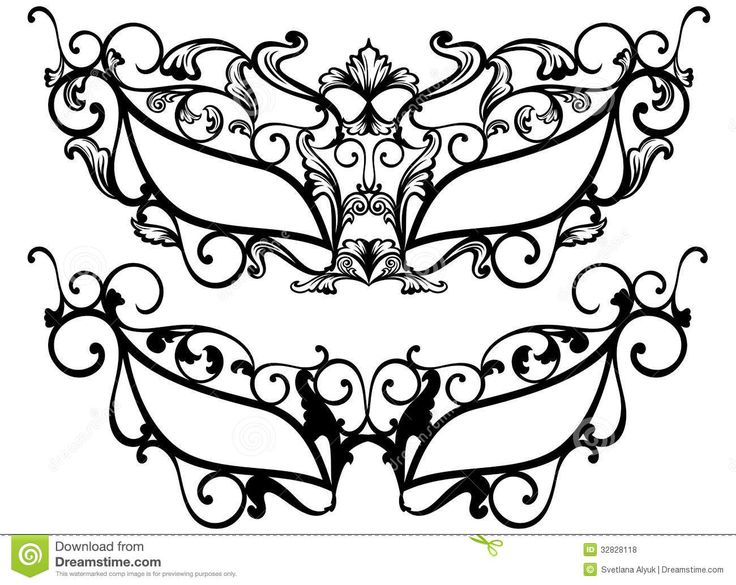 Masquerade Masks Vector Royalty Free Stock Photos - Image - masquerade mask template