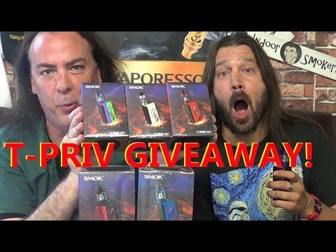 The Smok Independence Day T-PRIV Giveaway! | IndoorSmokers - YouTube