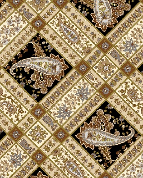 Benartex Fabric Mayfair Paisley Trellis 04068-77
