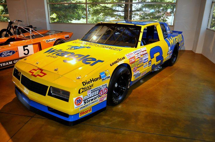Dale Earnhardt 1987 NASCAR Monte Carlo SS, Canepa Motorsports Museum.  #DaleEarnhardt https://www.pinterest.com/jr88rules/dale-earnhardt/