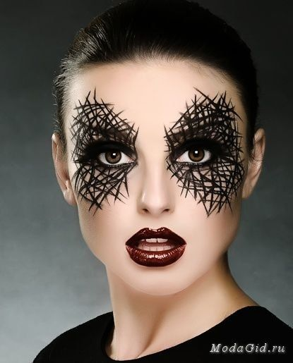 Макияж для Хэллоуина 2013