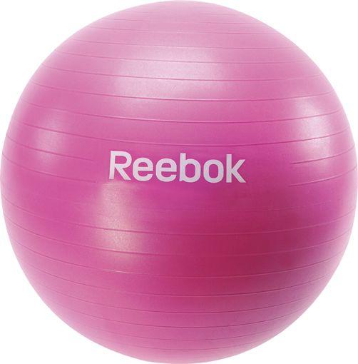 Gymbal Reebok Magenta 65 cm  Description: De Reebok gymbal is gemaakt van een hoogwaardig kunststof. Deze gymballen zijn verkrijgbaar in de maten 65 en 75 cm. De Reebok Gym ball is ideaal voor sit-ups rug-oefeningen en algemene fitness-training.Productinformatie- Inclusief pomp \\n - Te gebruiken op elke ondergrond \\n - Zeer goede hulp bij sit-ups rugoefeningen etc - Maten zijn het meest geschikt voor: Lichaamslengte Aanbevolen maat - van 156 tot 165cm 55cm \\n - van 166 tot 178cm 65cm…
