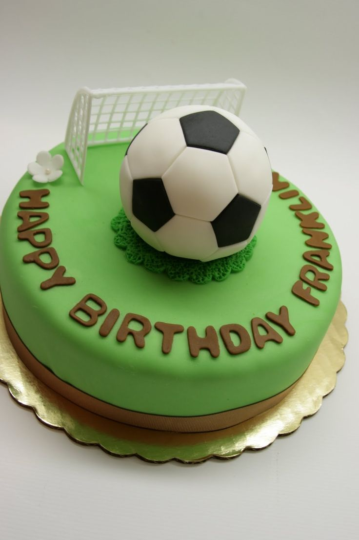 38 best Football Soccer Cake Ideas images on Pinterest Football