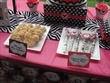 """Photo 8 of 24: Minnie Mouse and Zebra Print / Birthday """"Alaina's Zebra & Pink Minnie Mouse 1st Birthday"""" 