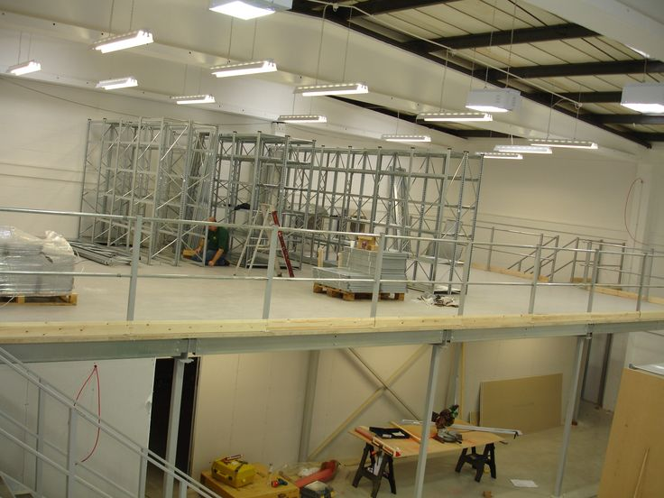 Mezzanine Floor in Doncaster installed by The Raised Storage Area #Mezzanine floor http://www.mezzaninefloorsuk.net/