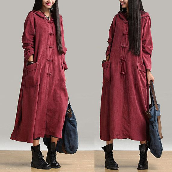 Wear clothes autumn fall Wine red, Always give people a pleasure Overall presentation gives the impression, There are fresh and elegant style