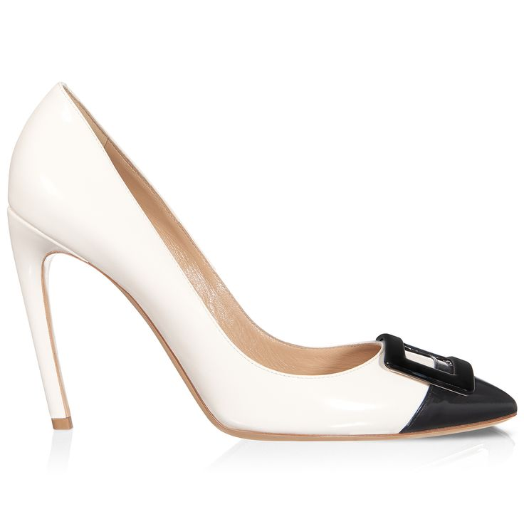 Roger Vivier - Sexy Choc Pump in Leather #theluxer #thestories #RogerVivier