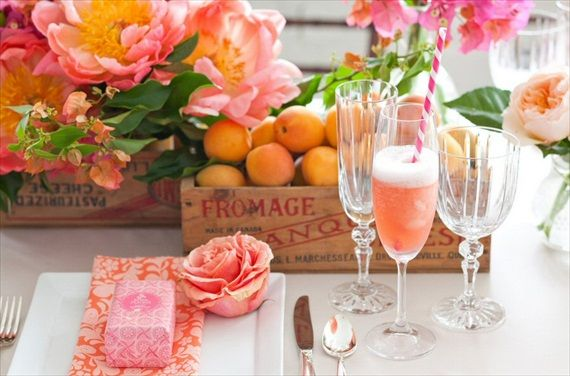 DIY Champagne Bar - would love to do this