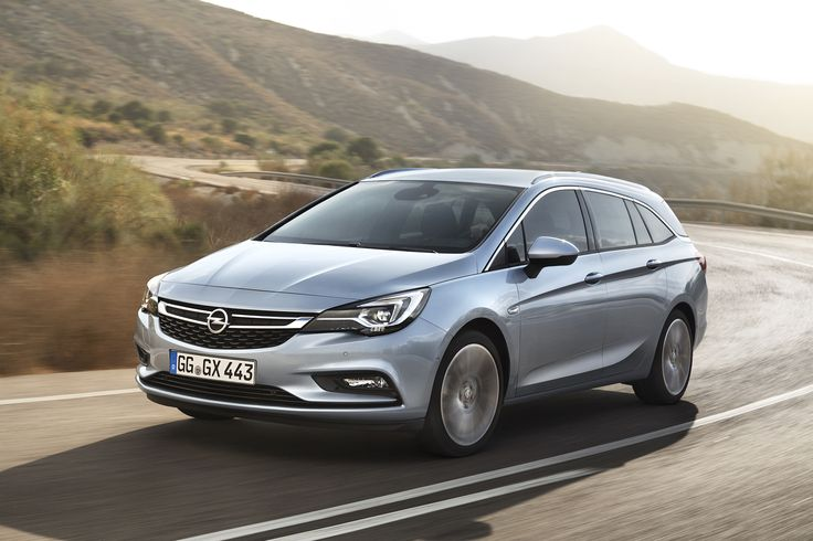 The Astra Sports Tourer is based on a completely new lightweight vehicle architecture that will make it up to around 190 kilograms lighter than the outgoing model.