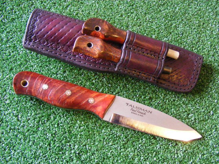 Frenchy's Custom Knives and Sticks - Bushcraft Style knives - The Talisman