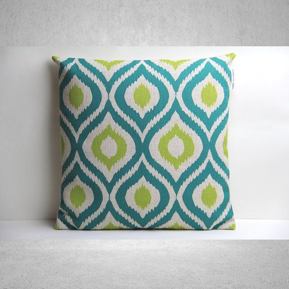 Geometric Pillow Cover, Pillow Cover, Decorative Pillow Cover, Pillow Case, Cushion Cover, Housewarming Gift, Throw Pillow18x18 Pillow Cover
