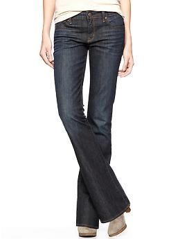 Medium or Dark rinse jeans that make you look and feel great. Keep embellishments and trendy details to minimum.