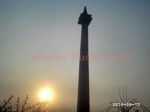 Sunset di Tugu Monas - 3